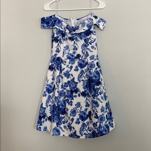 Charlotte Russe off shoulder floral dress